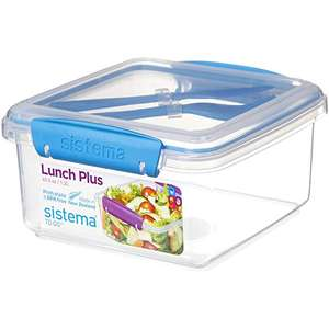 Sistema lunch plus with knife and fork now £1.75 at Tesco instore