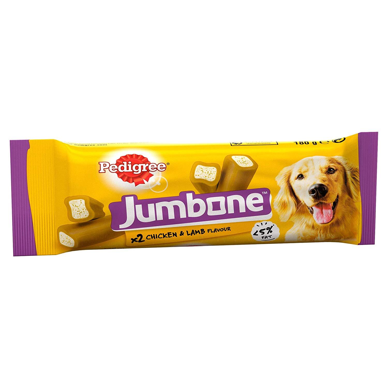 Pedigree Jumbone, Medium Dog Treats with Chicken and Lamb, 24 Chews - £1.65 Prime / +£4.49 non Prime @ Amazon