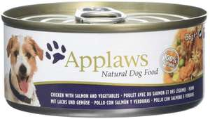 Applaws Dog Tin 156g Chicken Breast with Salmon and Vegetables 12 x 156g - £1.85 Prime / +£4.49 non Prime @ Amazon