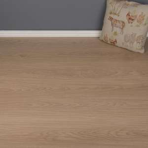 Launcestan Oak Laminate Flooring - AC4 - 7mm - 2.467m2 - £5.67/m² (£13.99 per pack) - delivery from £5.99 @ Brooklyn Trading