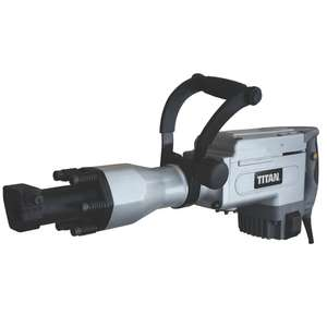 Titan TTB280DRH 15.5KG Hex Shank Electric Breaker 230V - £129.99 delivered @ Screwfix