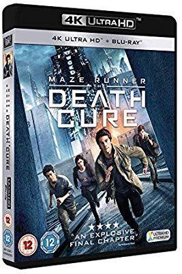 Maze runner the death cure 4k UHD + blu ray + digital download £9.69 @ Amazon Prime / +£2.99 non Prime