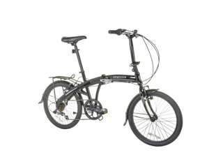 Cross Commuter 20 inch Wheel Size Unisex Folding Bike now £149.99 free click and collect at Argos