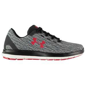Men's Under Armour Remix Trainers in Black/Red - size 11 trainers £13.98 delivered at USC