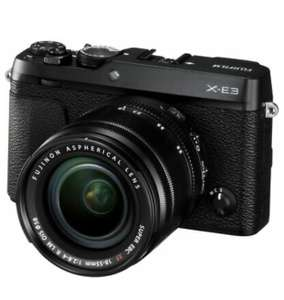 FUJIFILM X-E3 Mirrorless Camera with XF 18-55 mm f/2.8-4 R LM OIS Lens - £616.55 @ eBay / Currys Clearance