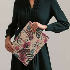 Botanical Floral Large Tech Pouch - £17.10 using code + Free Click and Collect @ Radley Shop