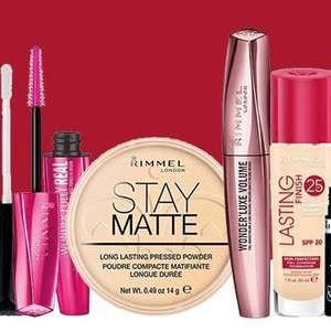 30% off Rimmel cosmetics @ Superdrug ONLINE ONLY + free Click and Collect