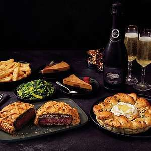 Valentine's Meal Deal for 2 - Starter, Main, 2 Sides, Dessert and Wine or Prosecco for £15 @ Morrisons