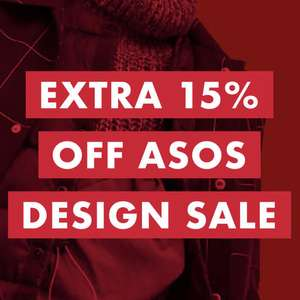 ASOS - Upto 70% off sale plus an extra 15% off sale using code on ASOS DESIGN items