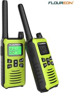 FLOUREON Walkie Talkies Two-Way Radio PMR 446MHZ 16 Channel Long Range £11.79 Sold by FLOUREON UK and Fulfilled by Amazon