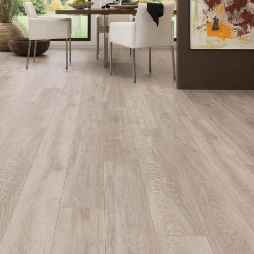 Krono 12mm V Groove Laminate Flooring Vario Boulder Oak Effect 1.48m² £12.72 Selco BW - Click & Collect