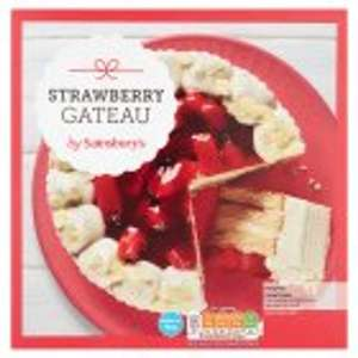 Strawberry Gateau 610g £1.40 @ Sainsbury's
