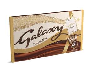 Galaxy chocolate bars - 4 x 200g. £3.00 instore at the Co-op