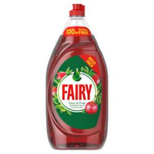 Fairy Pomegranate washing up liquid 1290ml £2.00 at Wilko Castle Douglas