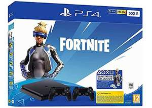 PS4 500GB Fortnite Neo Versa Edition with 2 Controllers £182.71 (£175 with fee free card) @ Amazon Germany