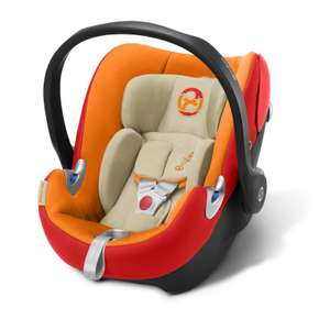 Cybex Aton Q Platinum i-Size Group 0+ Car Seat - Autumn Gold £79.99 with Free Next Day Delivery from Online4baby