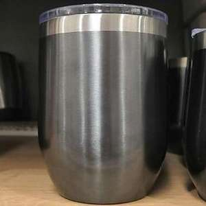 Morrisons squat gun metal double walled travel mug (450ml) - £2.50 at Morrisons Chester