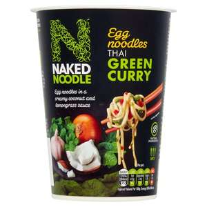 Naked Noodle Thai Green Curry Pot 78G, now £0.60 @ Tesco