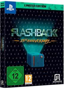 Flashback Limited Edition (PS4) £9.77 (Prime) / £12.76 (Non-prime) Delivered @ Amazon