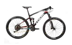 Look 927 Carbon MTB Shimano Deore XT top end full carbon full suspension mountain bike £1,519 at Planet X