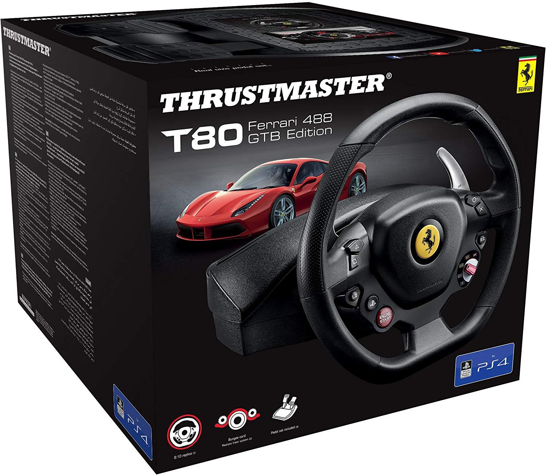 Thrustmaster T80 Ferrari 488 - GTB Edition Racing Wheel (PS4/PC) £48.99 Delivered @ Amazon.it