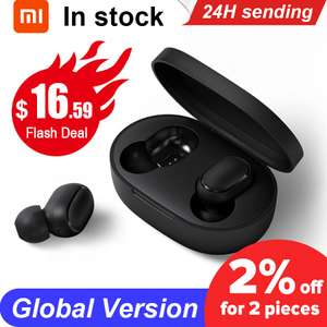 Original Xiaomi Redmi Airdots TWS Wireless Earphone £12.84 at AliExpress RTDC Store