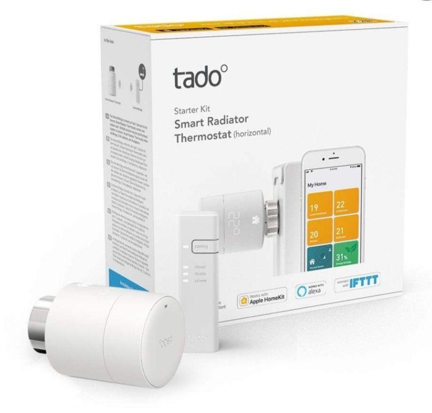 Tado Smart Radiator Thermostat Starter Kit V3+H £56.99 delivered @ Electrical Showroom