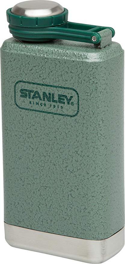 Stanley Adventure Series Steel Flask 0.14 Liter Hammertone Green 18/8 Stainless Steel £12 @ Amazon Prime / £16.49 Non Prime