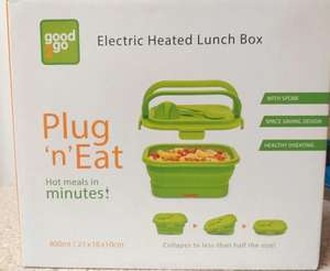 Electric Heated Lunch Box £6 at Morrisons Newtown in Powys