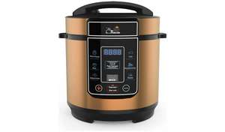 Pressure King Pro 8-in-1 3L Digital Pressure Cooker - Copper £39.99 @ Argos