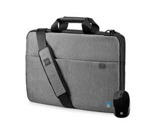 "HP 15"" Signature Slim Topload Laptop Case & Wireless Mouse Bundle - Grey, £19.99 ar Currys (free collection)"