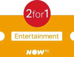 Now TV - 2 months for the price of 1 - 2 Months Entertainment for £8.99 or 2 Months Entertainment + Cinema for £20.98