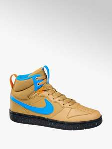 Junior Nike Court Borough Mid Trainers now £19.99 & £1.99 p&p size 10 up to 2 also on black @ Deichmann