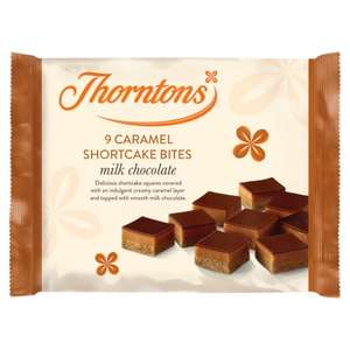 Thorntons Caramel Shortcake 39p at Aldi Plymouth