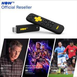 NOW TV Smart Stick with 3 passes £19.85 (+£4.49 Non Prime) Sold by Boss Deals/Distribution and Fulfilled by Amazon