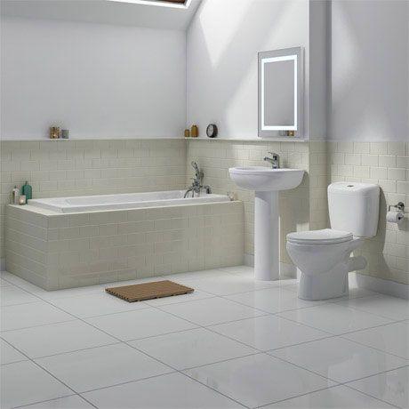 Melbourne 1700 5 Piece Bathroom Suite £195.90 @ Victorian Plumbing