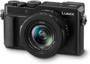 Panasonic DC-LX100M2EB (Mark II) 4/3-Inch 17MP and F1.7 – 2.8 Leica Lens (24-75 mm) Lumix Compact Camera for £399.97 delivered @ Amazon