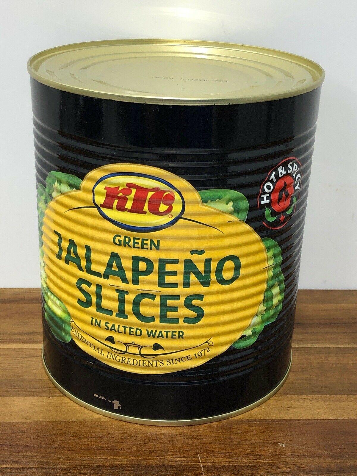 Giant 2.9kg can of KTC Sliced Jalapenos - 97p instore @ Costco Farnborough
