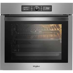 Free installation on selected Whirlpool ovens at AO.Com worth £90