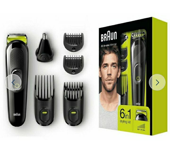 Braun 6-in-1 Beard Trimmer and Hair Clipper MGK3021 £14.99 @ Argos