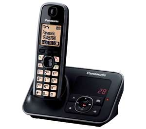 PANASONIC KX-TG6621EB Cordless Phone with Answering Machine now £24.99 delivered at Currys