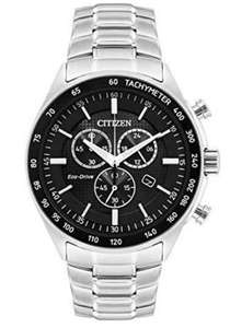 Citizen Men's Eco-Drive Black Chronograph Watch, £119.99 at Argos (Free collection available)