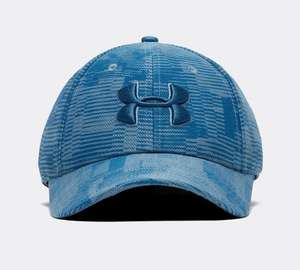 Under Armour Blitzing Print Cap | Petrol Blue now £6.99 free click and collect at Foot Asylum