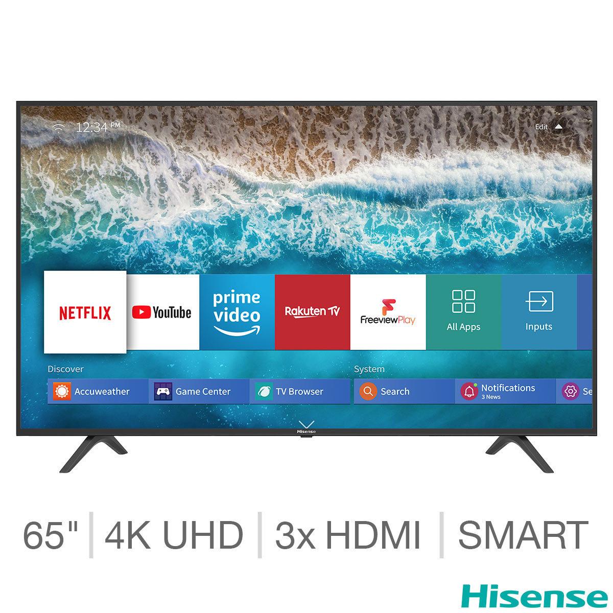 Hisense H65B7100UK 65 Inch 4K Ultra HD Smart TV at Costco for £419.98