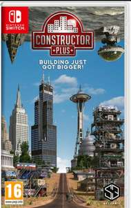 Constructor Plus on Nintendo Switch (CODE IN BOX) for £9.99 (Or buy 2 for 14 from the link below) @ Argos (Free Click and Collect)