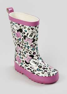 Kids Disney Minnie Mouse & Green Mickey Mouse Wellies reduced to £5 @ Matalan + free Click and Collect