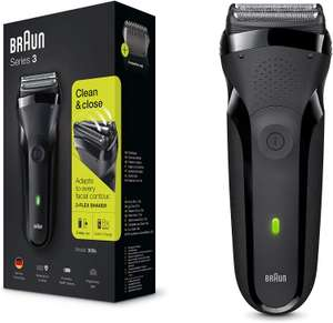 Braun Series 3 300s Electric Shaver for Men/Rechargeable Electric Razor now £19.99 (Prime) + £4.49 (non Prime) at Amazon