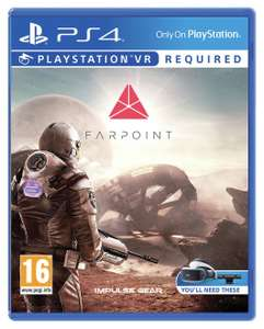 Farpoint PS VR Game (PS4) now £7.99 free click and collect at Argos (very limited stock see OP for stores)