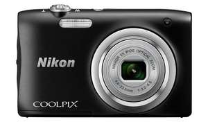 Nikon Coolpix A100 20MP 5x Zoom Compact Camera - Black - £69.99 @ Argos