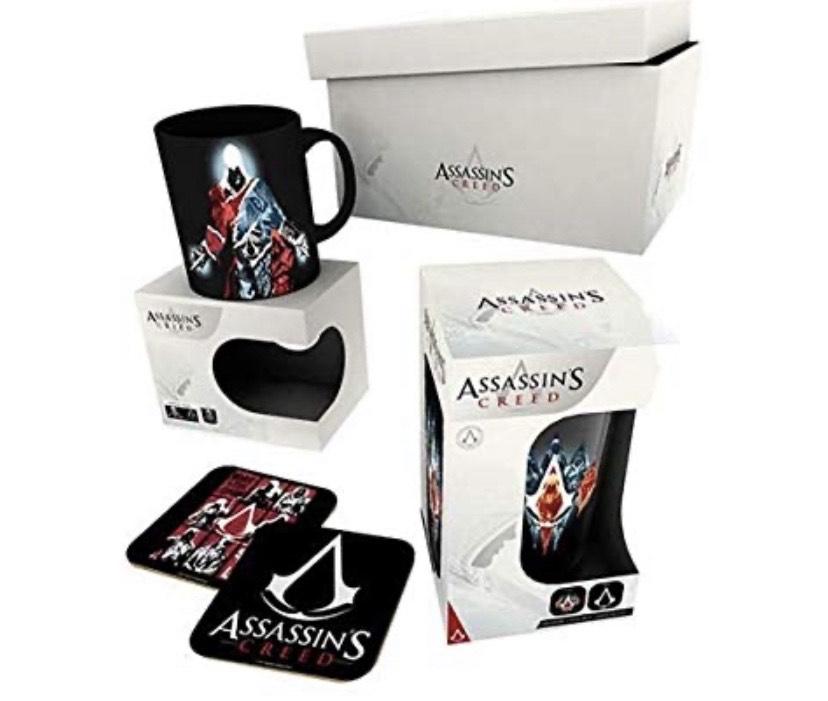 Assassins Creed Gift Box (Mug / Glass / Coasters) £4.85 @ Base